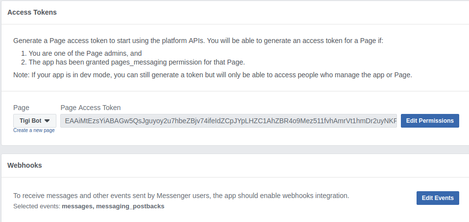 Rasa ChatBot integration with Slack and Facebook Messenger